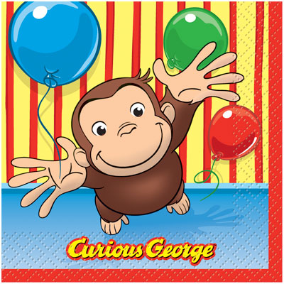 Party Fair - Curious George